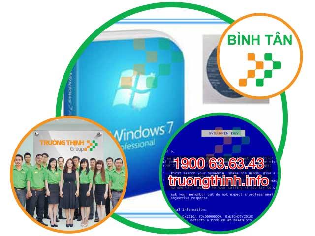 Dịch Vụ Cài Win Tận Nơi Quận Bình Tân