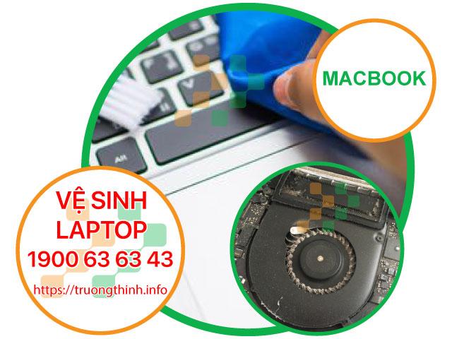 Dịch Vụ Vệ Sinh Laptop Apple Macbook Tận Nơi