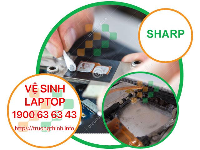 Dịch Vụ Vệ Sinh Laptop Sharp Tận Nơi